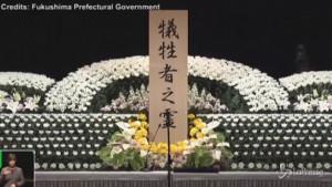 Giappone ricorda il disastro di Fukushima - VIDEO