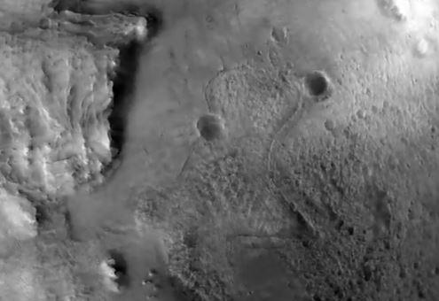 Perseverance su Marte Foto