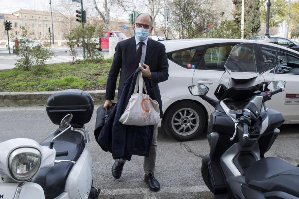 Enrico Letta a Roma