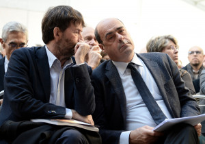 Nicola Zingaretti e Dario Franceschini