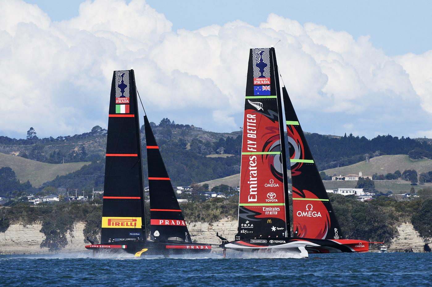 Vela: America's Cup, Luna Rossa vs New Zealand