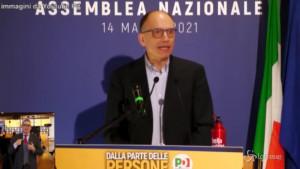 Enrico Letta PD