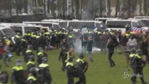 Scontri tra polizia e dimostranti