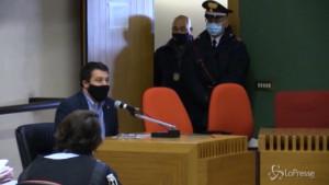 Salvini depone in aula per la querela contro i 99 Posse