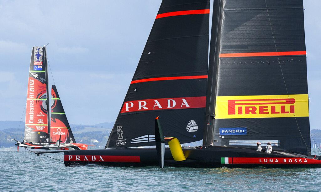 Luna Rossa, New Zealand America's Cup