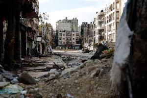 Siria. Un normale giorno di guerra ad Aleppo