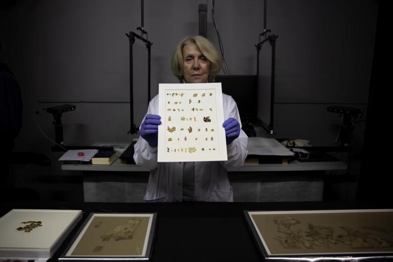 Frammenti biblici dei rotoli del Mar Morto   FOTOGALLERY