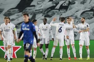 Real Madrid vs Atalanta - UEFA Champions League 2020/2021