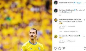 Ibrahimovic convocato in nazionale