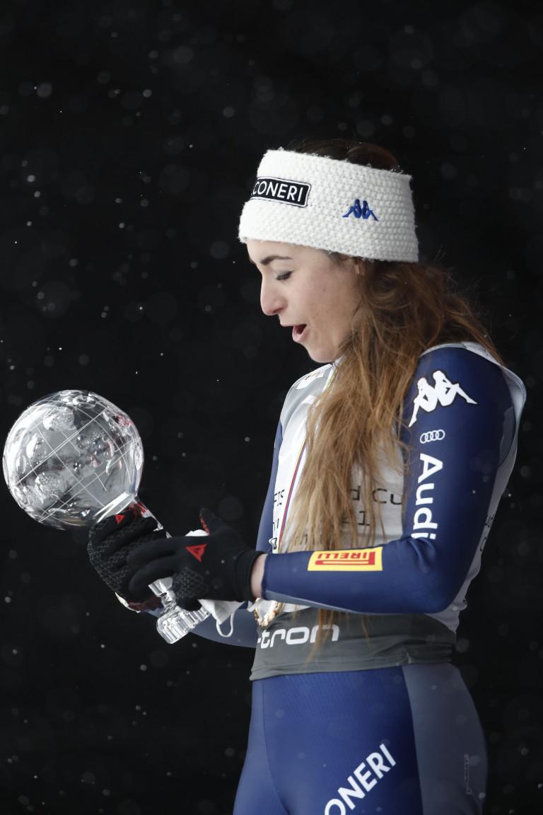 Sofia Goggia Coppa del Mondo di discesa