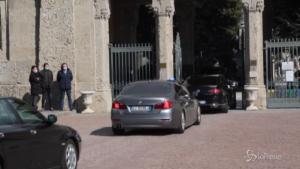 Draghi al cimitero di Bergamo