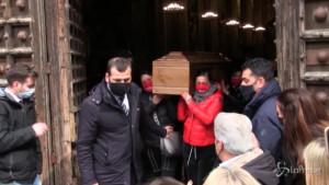 funerali di Ornella Pinto