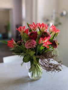 il fiore all'occhiello, tulipani
