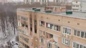 Esplosione in un palazzo di Khimki