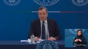 Dl sostegno, Draghi