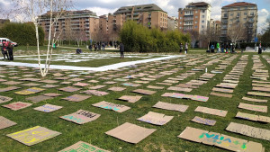Manifestazione dei Fridays for Future a Torino