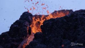 colate laviche da un vulcano