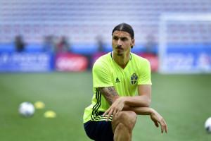 Ibrahimovic si allena con la nazionale a Nizza