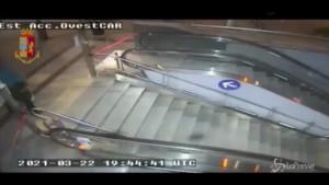 vandalismo nella metro