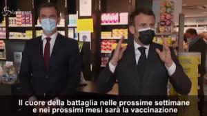 Coronavirus, Macron