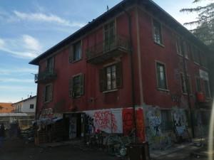 casa cantoniera di Oulx occupata