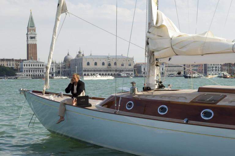 Casino Royale con Daniel Craig girato a Venezia