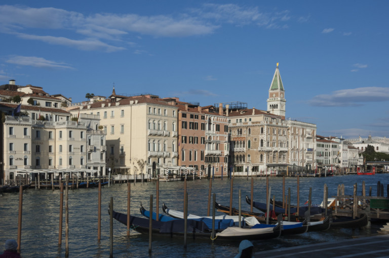 Venezia - Panoramica del Canal Grande.