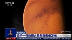 Marte, nuove immagini dalla sonda cinese Tianwen-1