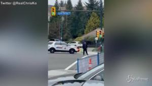 Attacco con coltello a Vancouver