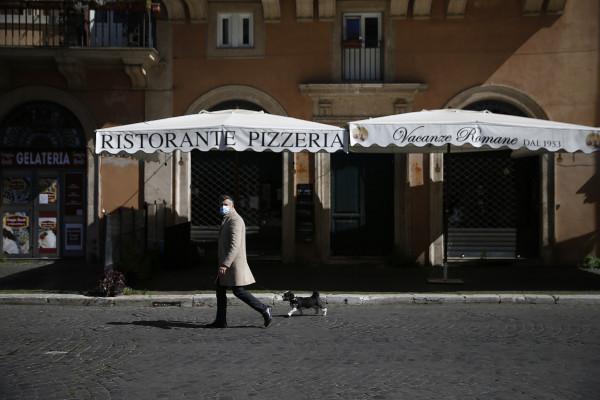 piazza Navona chiusa