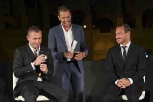 Tapiro d'Oro a Cassano: Con Totti fuori tutta la notte, poi a Trigoria