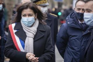 Commemorazione a Parigi delle vittime dell'attentato a Charlie Hebdo