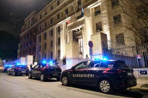 Roma, carabinieri
