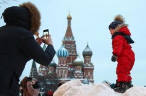 Mosca pronta ad accogliere il nuovo anno