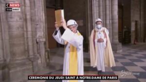 A Notre-Dame si celebra il Giovedì Santo
