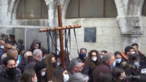 Gerusalemme: folla di fedeli