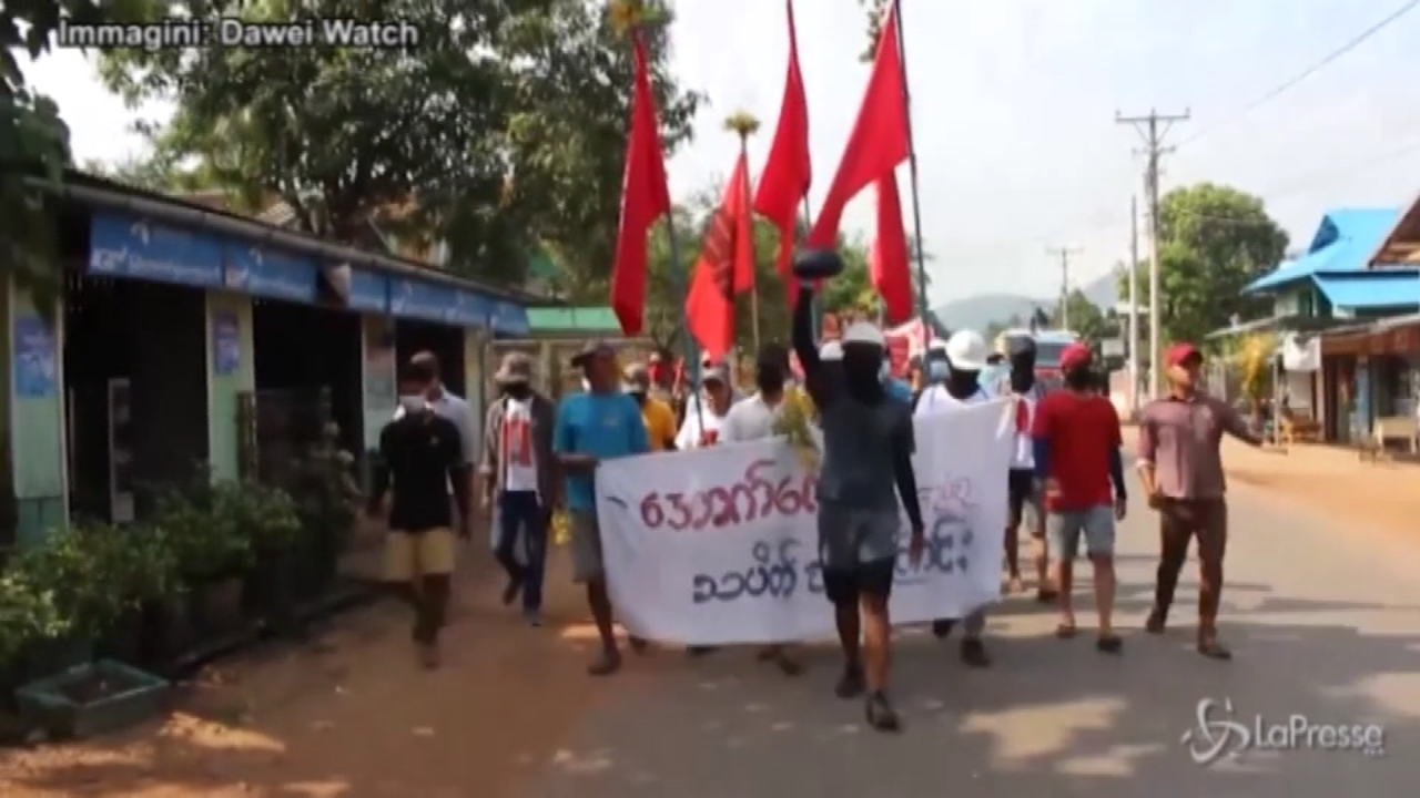 Myanmar, nuove proteste nel sud del Paese