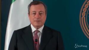 Libia, Draghi
