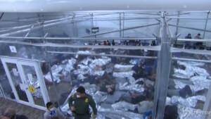 centro migranti in Texas