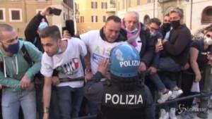 Protesta ristoratori davanti a Montecitorio
