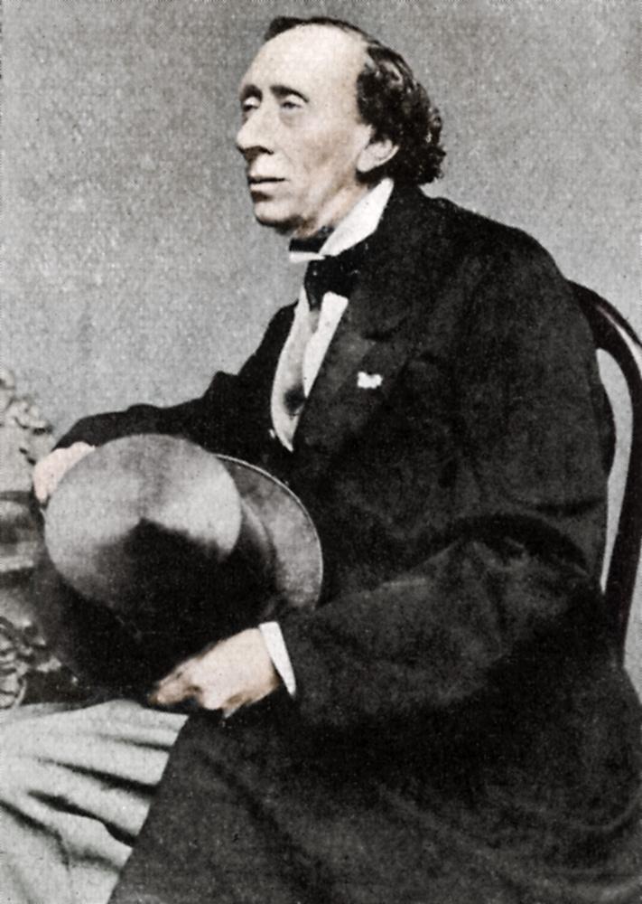 Ritratto di Hans Christian Andersen