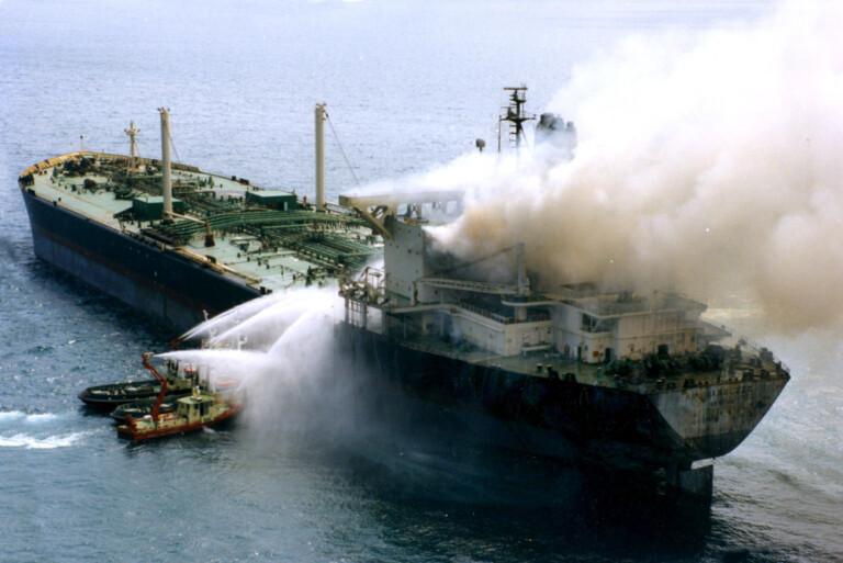 Disastro della motonave Moby Prince in seguito allo scontro con la petroliera Agip Abruzzo