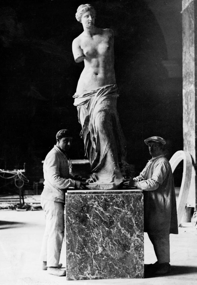 L'Afrodite di Milo, meglio conosciuta come Venere di Milo
