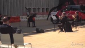 filarmonica di New York torna a esibirsi al Lincoln Center