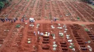 Cimiteri al collasso in Brasile