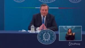 Covid, Draghi
