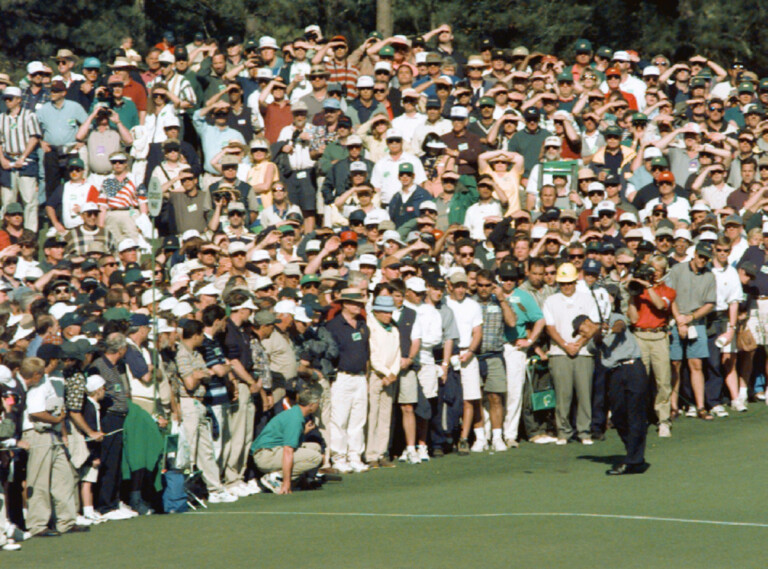 Tiger Woods vince la 61esima edizione del Masters Tournament di golf