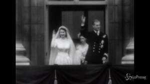 Morte Filippo: le nozze con Elisabetta nel 1947