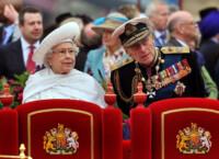 Filippo Duca di Edimburgo con la regina Elisabetta