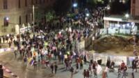 notte di proteste contro il premier Netanyahu